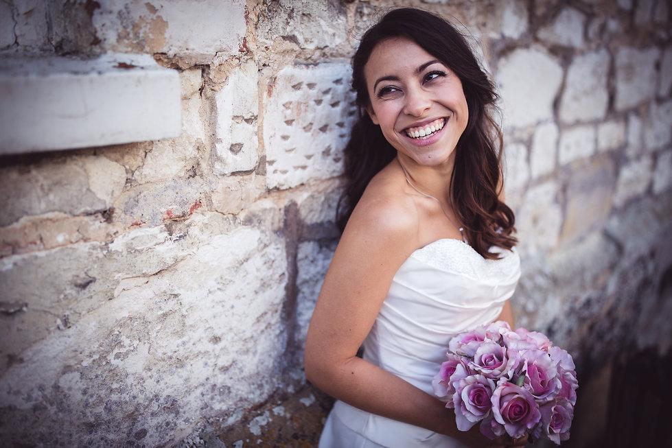 Bride at Manor Parc Hotel Wedding