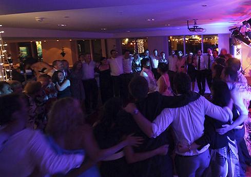 DJ wedding disco at st davids hotel