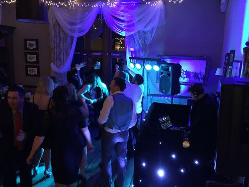 Wedding DJ Set up in Ty Mawr Cardiff