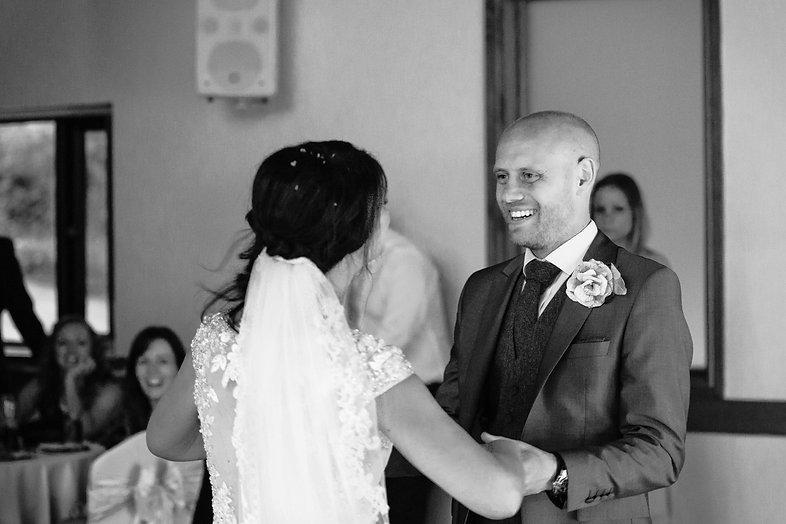 Couple at St Davids Hotel Wedding