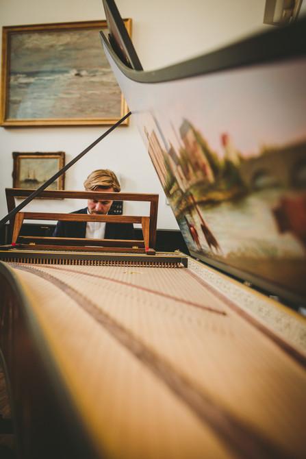 piano at RWCMD