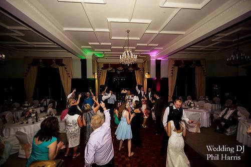 Dancing in Buckland Hall