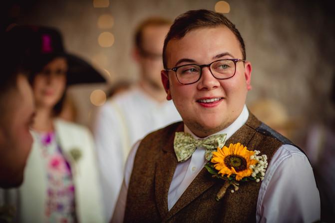 groom at Rosedew Farm