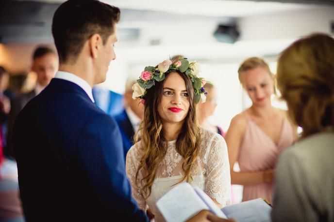 couple at Llechwen Wedding