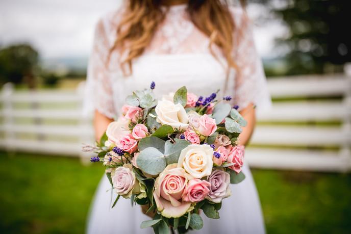 flower at a wedding