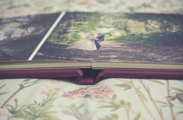 wedding photographer cardiff album