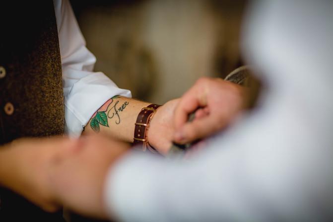 Wedding rings at Rosedew