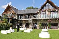 Canada lake and lodge wedding venue