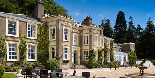 New country house hotel