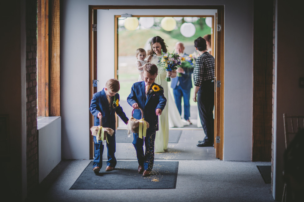 children at St Davids Wales