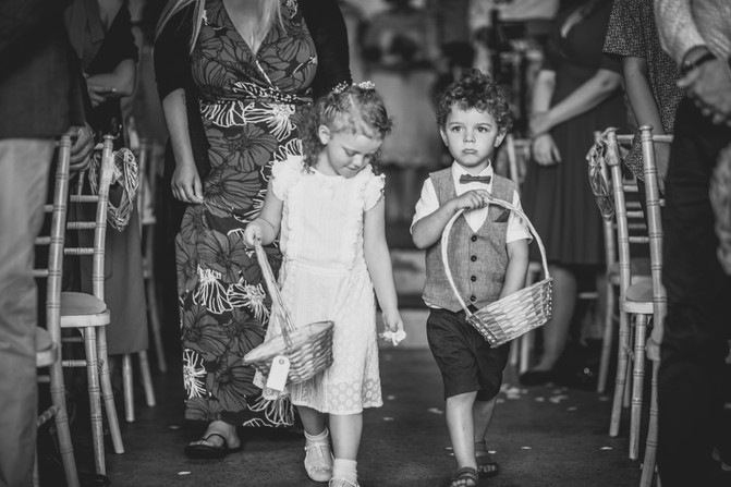 children at Rosedew Wedding