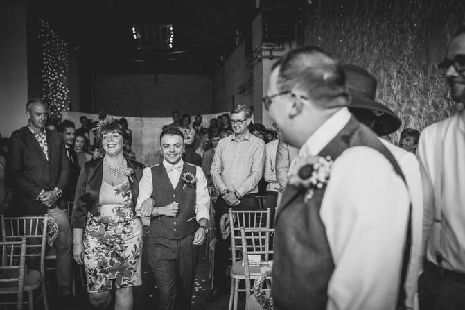 people at Rosedew Wedding
