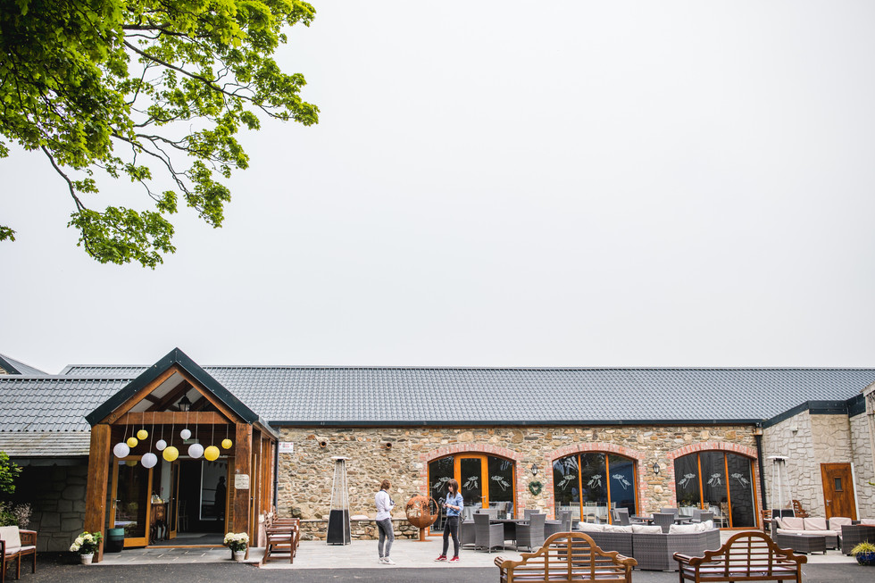 banquet hall in Crug Glas South Wales