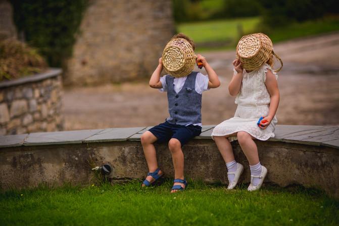 children at Rosedew