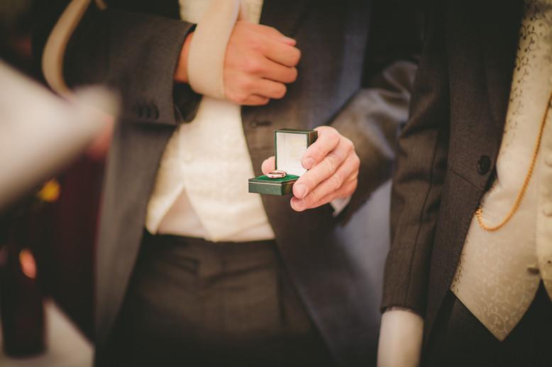 Wedding rings at Royal Welsh
