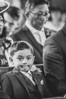Child in Wedding Ceremony Cardiff