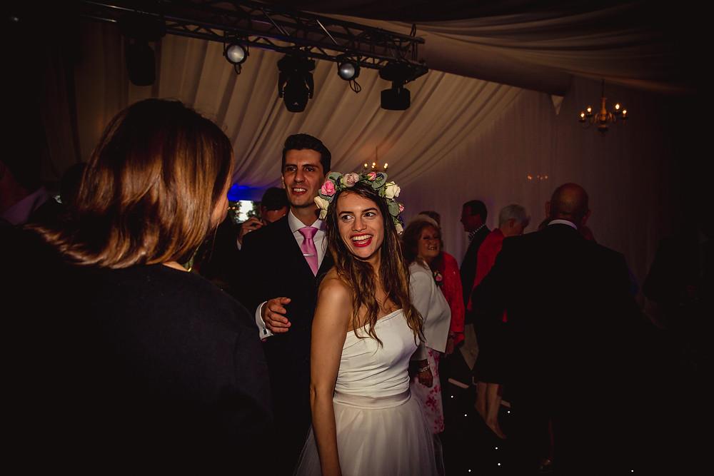 dancing at wedding dj cardiff