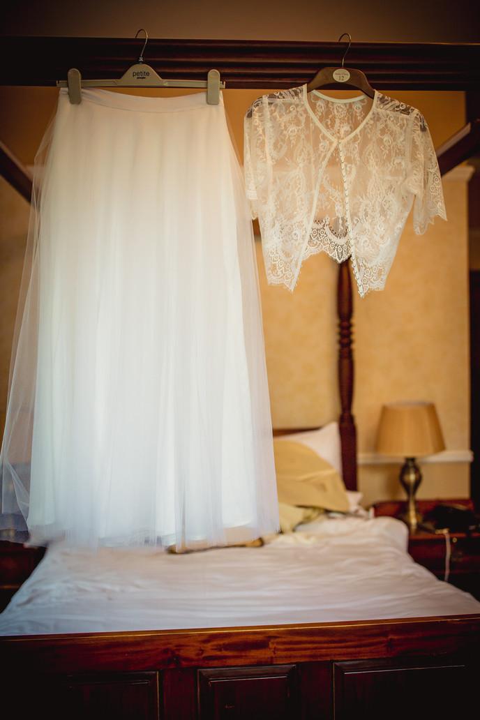 Clothes at Llechwen Wedding