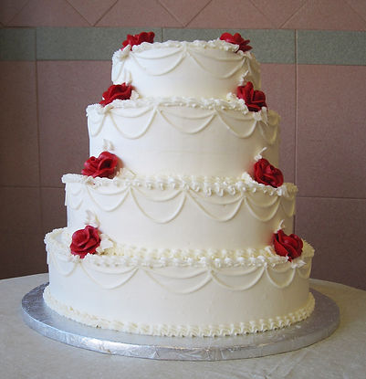 buy a classic wedding cake in south wales