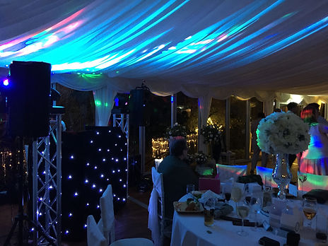 Bryngarw house wedding disco