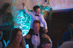 Party time at Miskin Manor