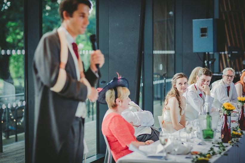 Speech at Glyn Clydach Hotel Wedding