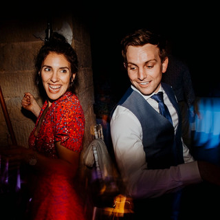 Dancing at a Cardiff wedding