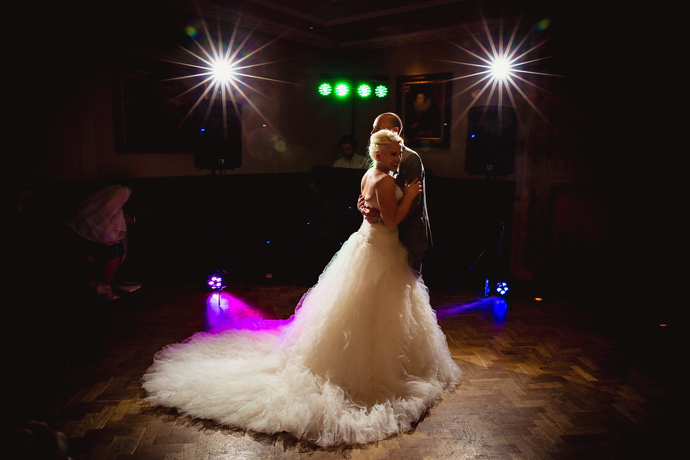 early first dance at wedding dj in cardiff