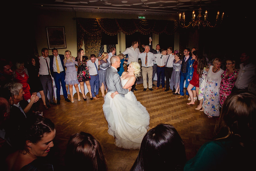 Couple Dance at Hilles House wedding