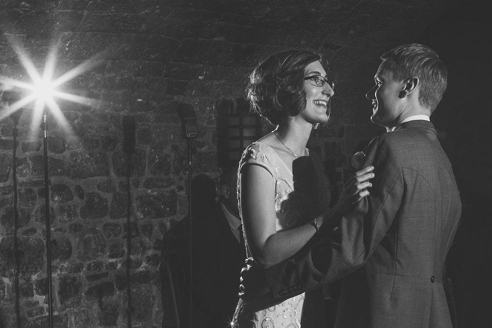 Dance at Cardiff castle Wedding