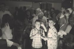 On the dancefloor at Joylons