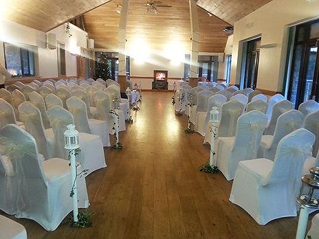 Canada lake and lodge wedding