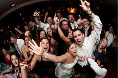 Happy bride at cardiff wedding
