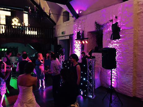DJ at the miskin manor hotel
