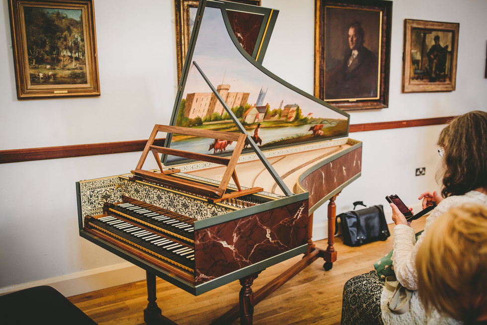 piano at Royal Welsh