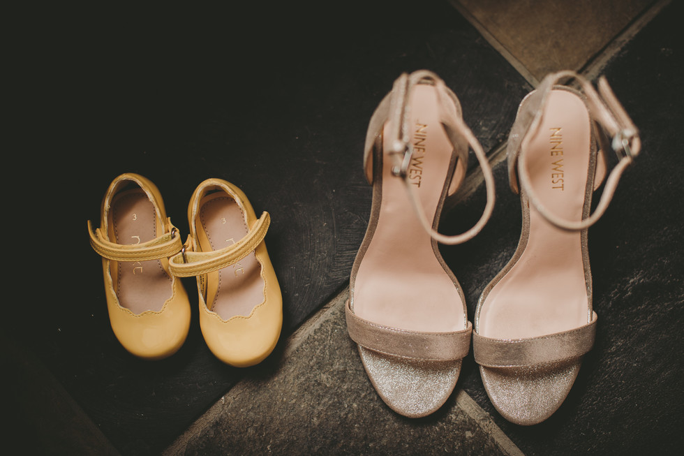 shoes at St DavidsWales