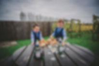 Children at Wedding photographers in Pembrokeshire