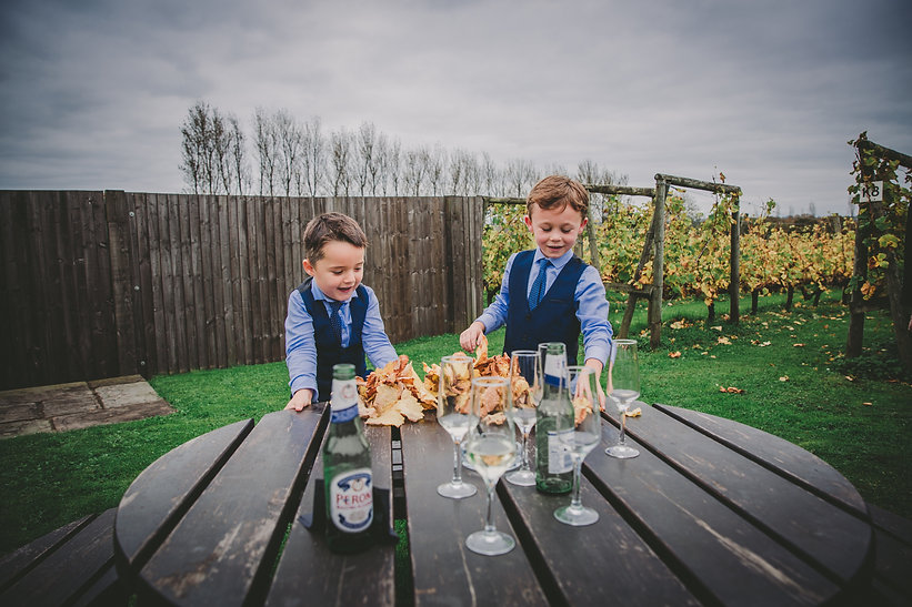 Children at Wedding photographers in Pembrokeshire