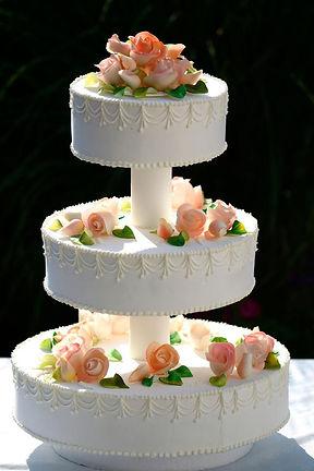 Buy a three-tier wedding cakes cardiff