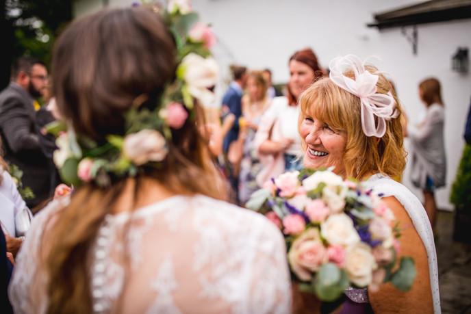 bridemaid at a Cardiff wedding