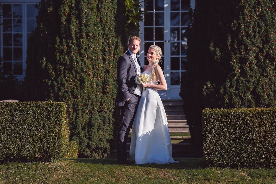 Getting married at pencoed house estate Wedding