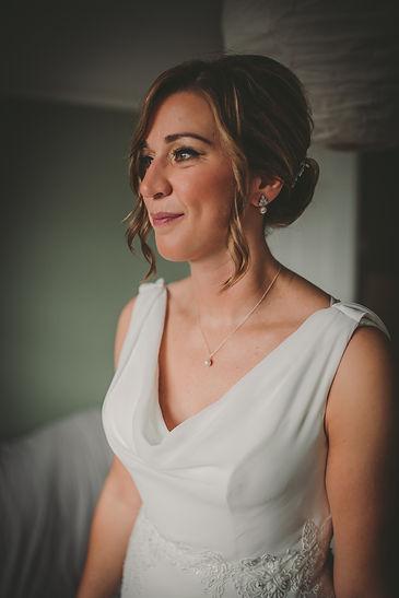 bride at Forrest Of Dan Wedding
