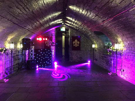 DJ in Cardiff Castle