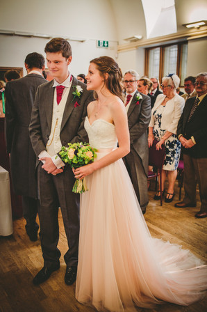 bride and groom at RWCMD