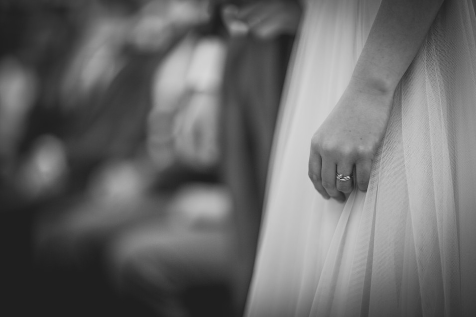Wedding rings at Royal Welsh college