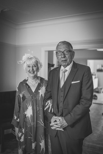 Couple at South Sands Hotel Wedding