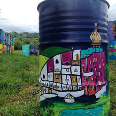 Hundertwasser House Bin