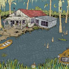 Bayou Swamp Shack