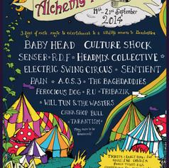 Alchemy Festival Poster