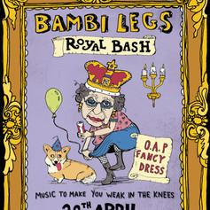 Bambi Legs Poster